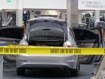 Man facing attempted murder charges after stolen car plows into gym