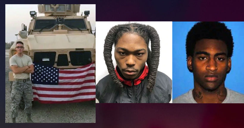 Airman killed trying to stop armed robbery; 2 of 3 suspects arrested