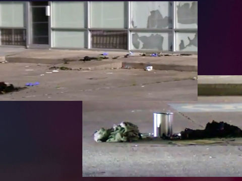 Sleeping homeless woman set on fire; victim recovering in hospital