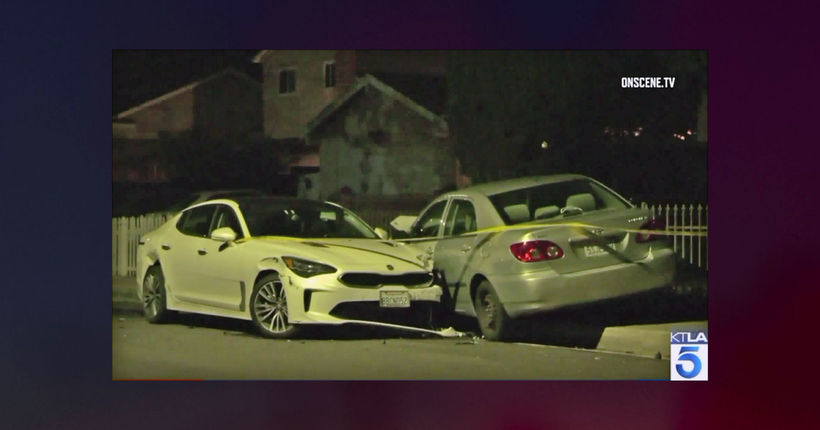 Pregnant woman stabbed 10 times in carjacking outside Los Angeles home