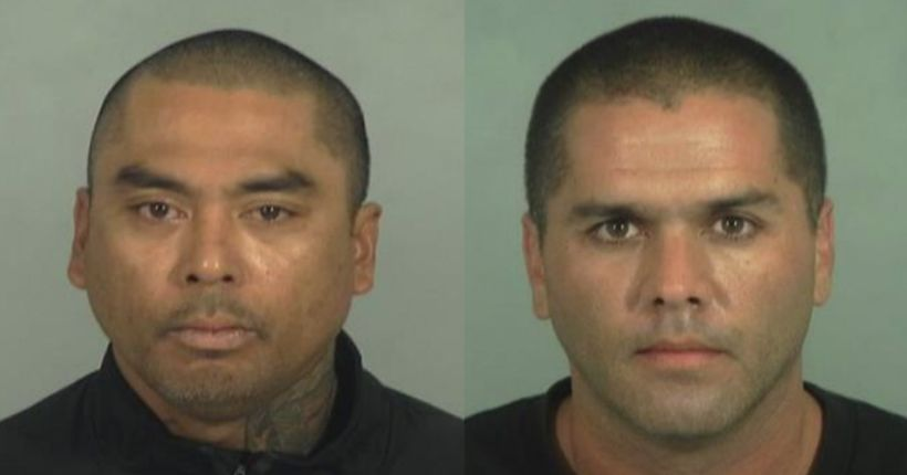 2 burglars arrested after breaking into Garden Grove beauty salon, tunneling their way into second business: police