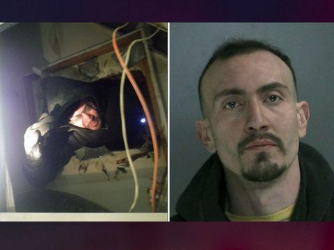 Alleged burglar gets stuck in vent of Long Island dentist office