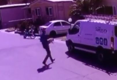 Cable employee fired; video shows him stealing dog from customer's home!