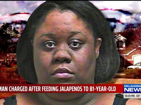 Woman accused of feeding jalapeño peppers to dementia patient