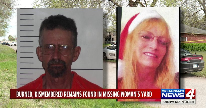Body found in missing woman's yard burned and dismembered, police say