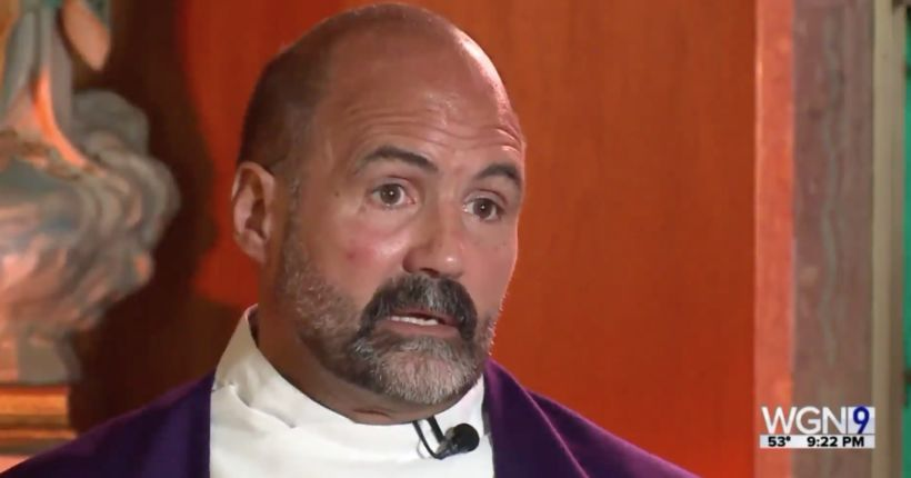 Chicago priest reinstated after being cleared after sexual wrongdoing investigation