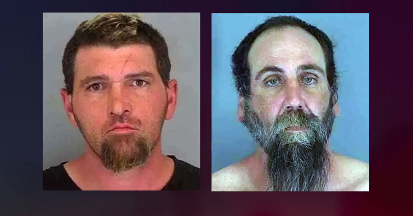 Men arrested in deaths of 2 women whose buried bodies were found in South Carolina