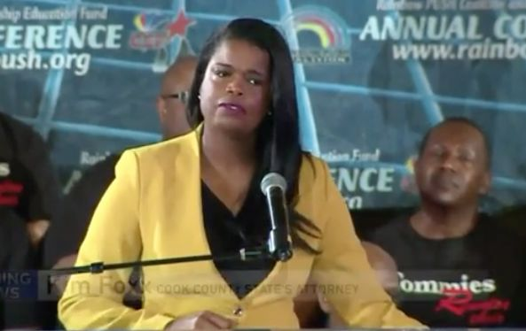Kim Foxx defends dropping charges against Jussie Smollett