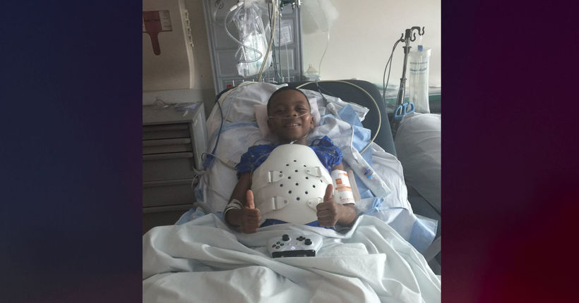 Mother of 8-year-old shot during baby shower speaks out