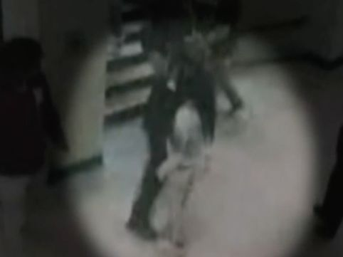Surveillance video shows violent encounter between officers and high school student