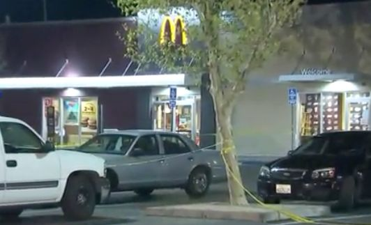 Naked man fatally shot by security guard during alleged knife attack at Palmdale McDonald's