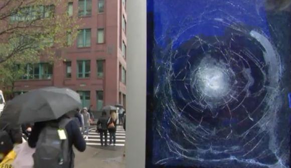 Man smashes LinkNYC kiosks in Manhattan