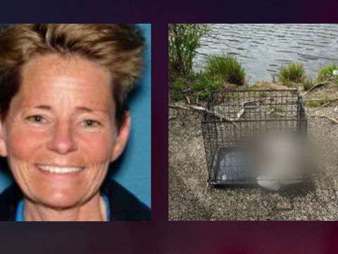 New Jersey woman charged after caged puppy found dead in local pond