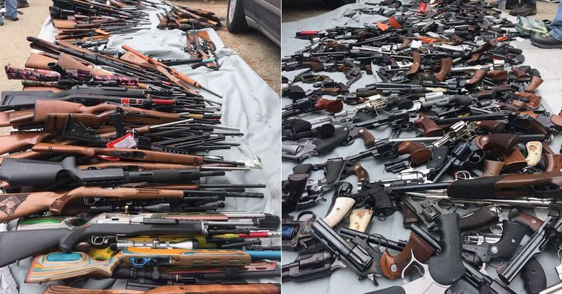 Man arrested after more than 1,000 guns found in Bel-Air home during investigation into selling, manufacturing of weapons