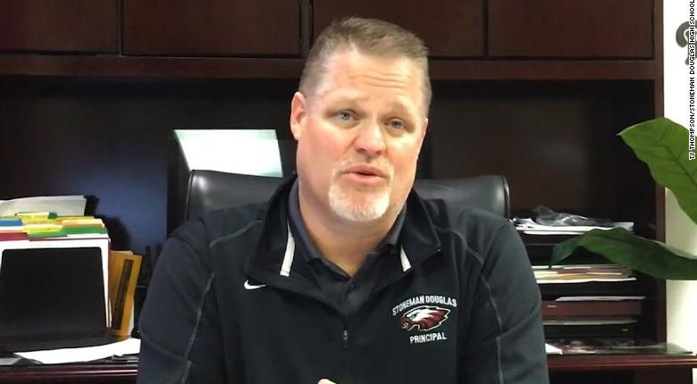 15 months after the Parkland shooting, the school's principal has announced he's stepping down