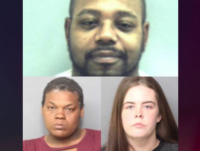 Women accused of having sex with dog while communicating with inmate