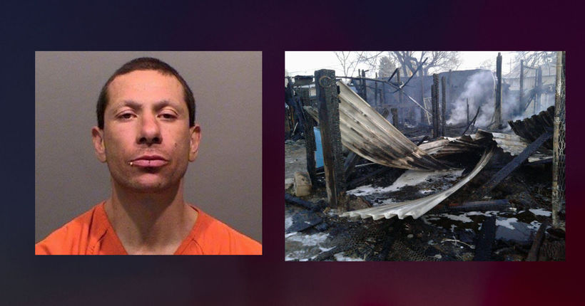 Man gets 25 years for setting fires that killed 7 horses, dog