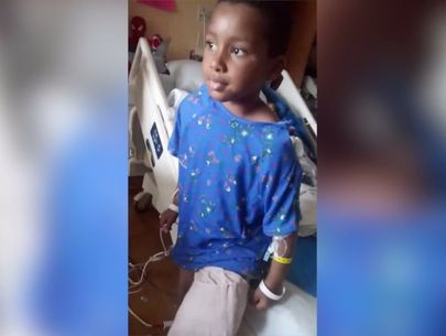 7-year-old boy shot forced to have leg amputated