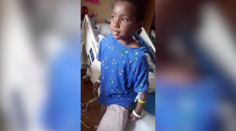 'I don't deserve this': 7-year-old boy shot in Milwaukee forced to have leg amputated