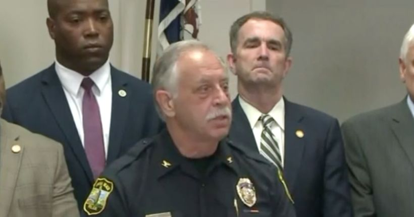Police Chief: 4 officers helped prevent more carnage in 'long gunbattle' with Virginia Beach shooter