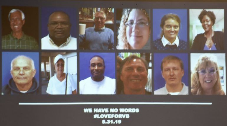 These are the city employees, contractor killed in Virginia Beach Municipal Center shooting