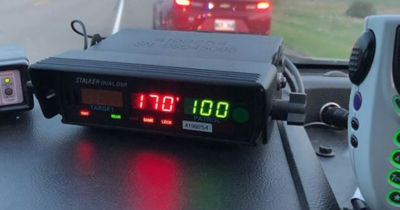 16-year-old caught driving 105 mph blames hot wings, need for bathroom, police say