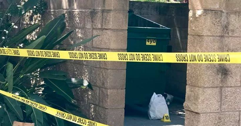 Newborn baby boy found alive in Stockton dumpster; teenage mother hospitalized