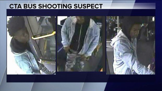 Surveillance images released of man wanted in Chicago bus shooting