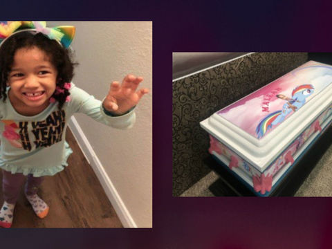 Custom 'My Little Pony' casket donated for Maleah Davis' funeral