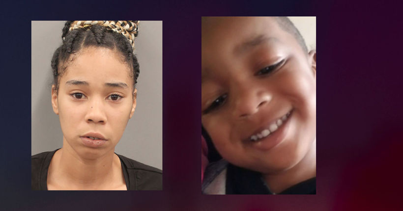 Woman accused of killing her 3-year-old while playing 'chicken' with her kids