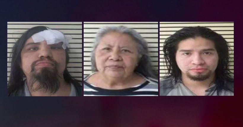 Three arrested after 4-year-old girl allegedly sexually assaulted, found living in deplorable conditions