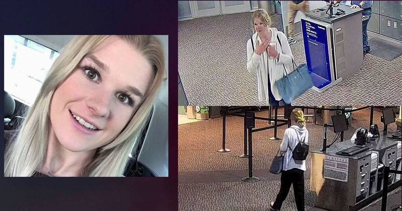 Missing: Police release photos of MacKenzie Lueck at Salt Lake City airport