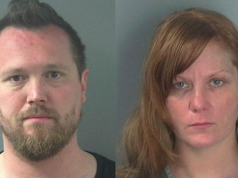 Man, woman accused leaving kids home alone to drink at bar