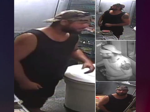 Officials: Man robs Wendy's after grilling burger
