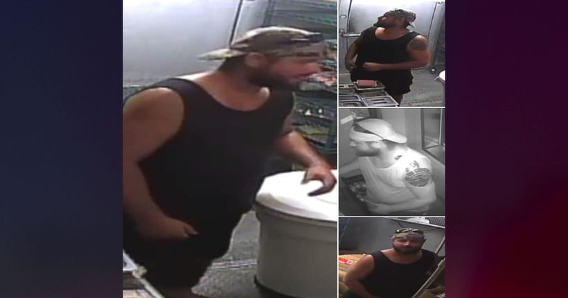 Officials: Florida man robs Wendy's after grilling burger