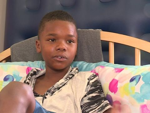 'They didn't expect me to live': 12-year-old shooting victim speaks out
