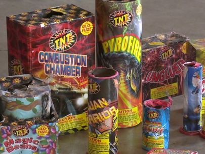 Cal Fire confiscates 100,000 lbs. of illegal fireworks in SoCal