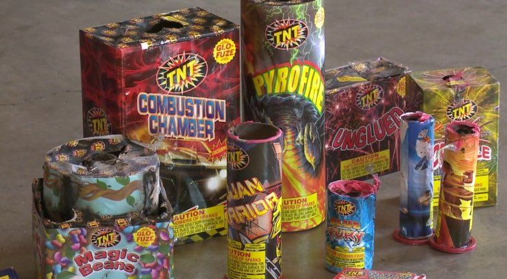 Cal Fire confiscates 100,000 lbs. of illegal fireworks throughout SoCal