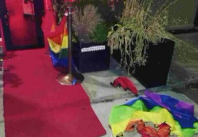 Pride flag burned at Harlem gay bar again