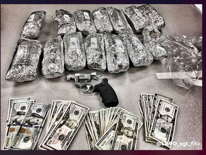 Man gets 15 years for 'meth burritos' found during L.A. traffic stop
