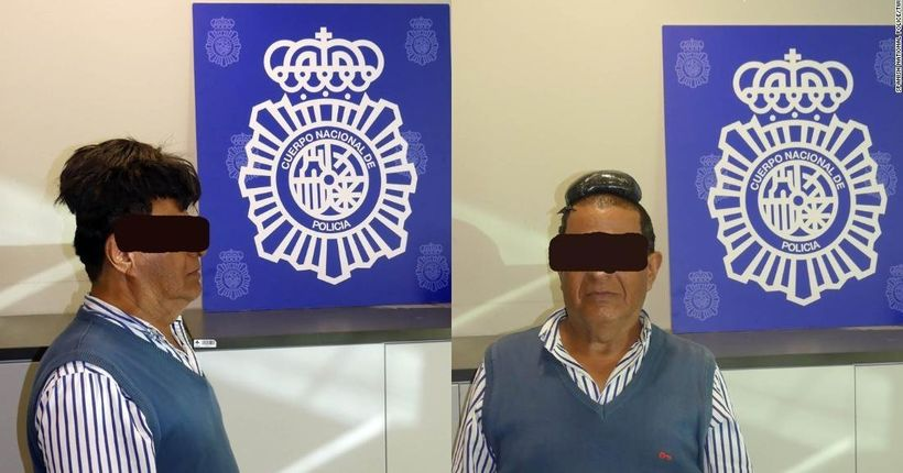 Spanish police catch man trying to smuggle pound of cocaine under his toupee
