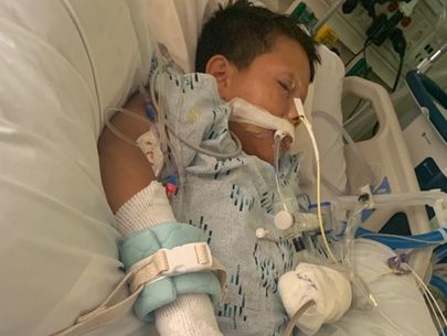 Boy fighting to recover after losing hand to firework on 10th birthday