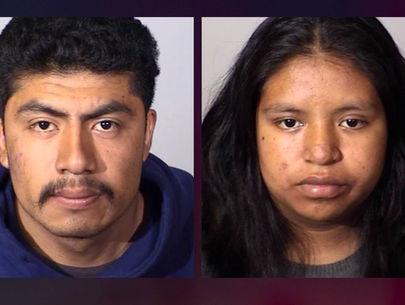 Mom, boyfriend arrested in strangling death of newborn infant