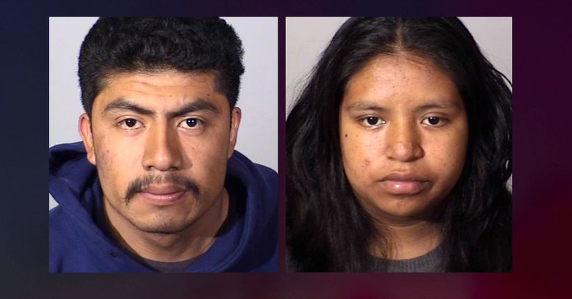 Mom, boyfriend arrested in strangling death of newborn infant