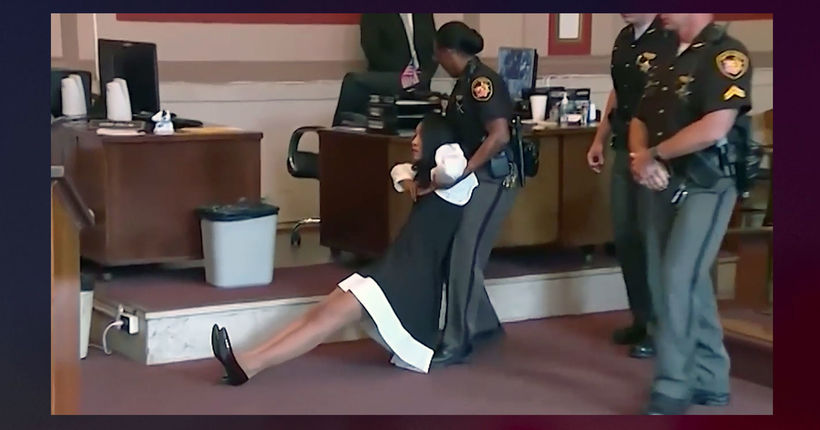 Video: Former Ohio judge dragged from courtroom after sentencing