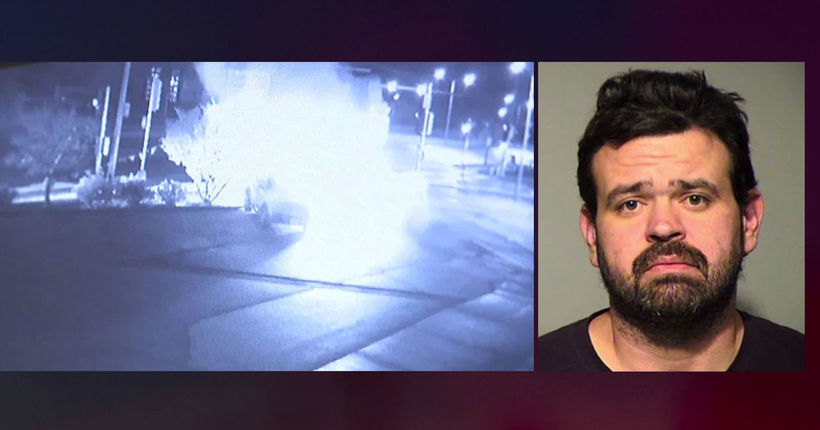 'Too drunk to remember': Case dismissed against man charged with torching SUV in auto shop parking lot