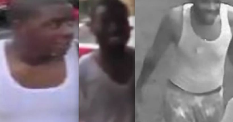 Police release photos of men wanted in connection with throwing water at NYPD officers