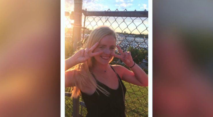 Vigil for murdered Ole Miss student Ally Kostial at Lindbergh High School today