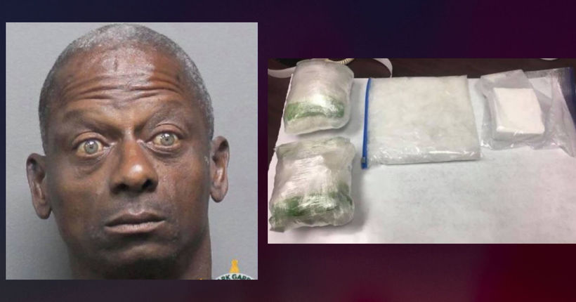 Police find 7 pounds of meth, 1 pound of cocaine during traffic stop