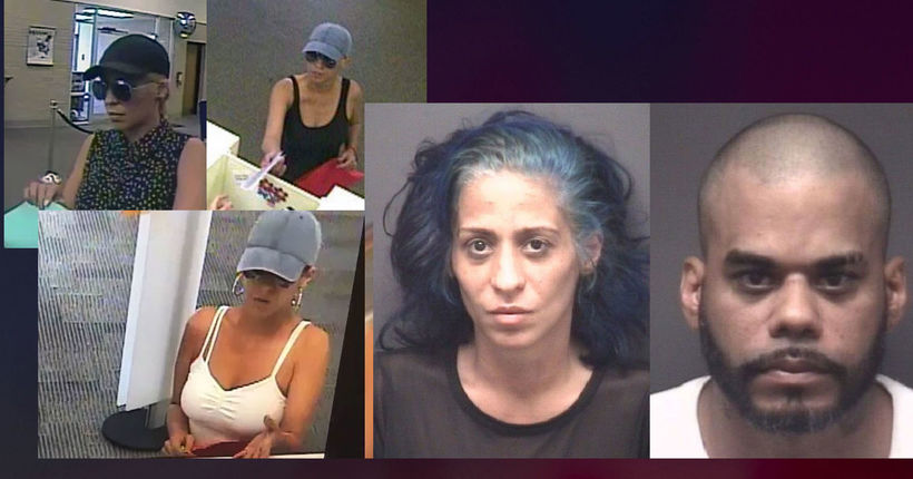 'Pink Lady Bandit' and accomplice arrested in N.C. after string of East Coast bank robberies: FBI